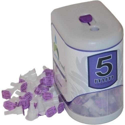 SAFE FINE Insulinpen-Nadeln 5 mm 31 G inkl.Box 100 St