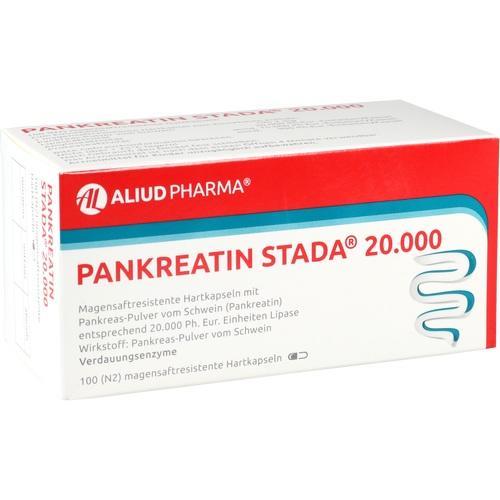 PANKREATIN STADA 20.000 magensaftres.Hartk.ALIUD