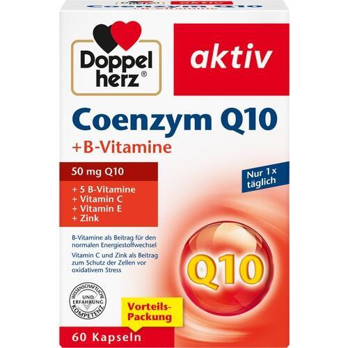 DOPPELHERZ Coenzym Q10+B Vitamine Kapseln