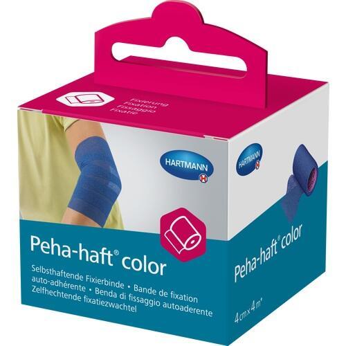 PEHA-HAFT Color Fixierb.latexfrei 4 cmx4 m blau