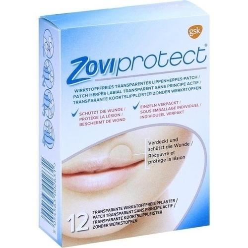 zoviprotect lippenherpes patch transparent 12 st herpes. Black Bedroom Furniture Sets. Home Design Ideas