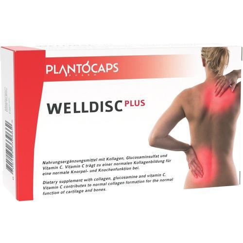 PLANTOCAPS WELLDISC PLUS Kapseln 60 St.