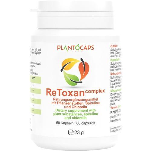 PLANTOCAPS ReToxan complex Kapseln 60 St.