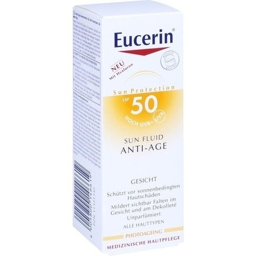EUCERIN Sun Fluid Anti-Age LSF 50
