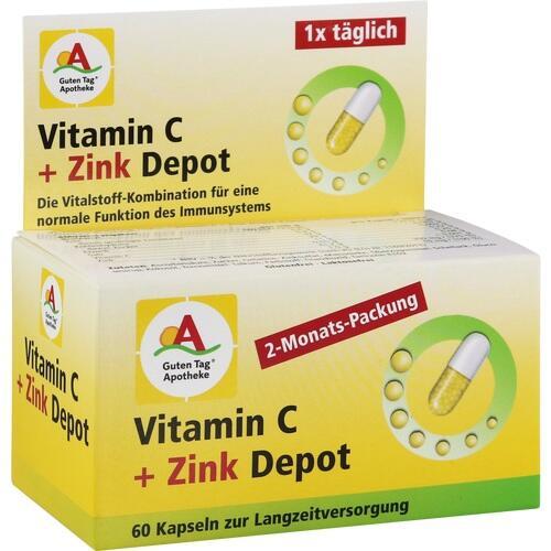 GUTEN TAG Apotheke Vit.C 300 mg+Zink 10 mg Depot