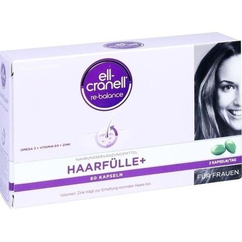 ELL-CRANELL Haarfülle+ für Frauen Kapseln 60 St