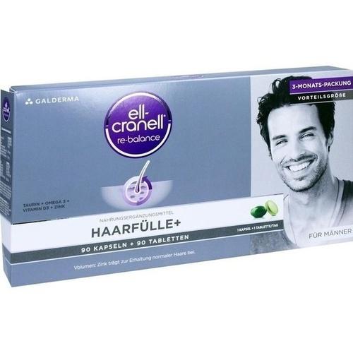 ELL-CRANELL Haarfülle+ für Männer Kombipackung 1 P