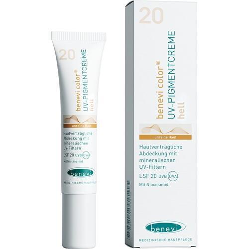 BENEVI Color UV-Pigmentcreme hell LSF 20