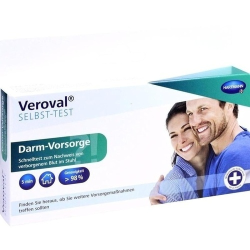 VEROVAL Darm-Vorsorge Selbsttest 1 St - Sonstige Tests ...