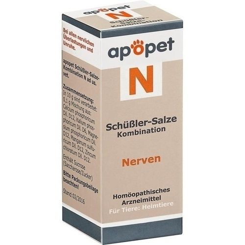 APOPET Schüßler-Salze-Kombination N ad us.vet.Gl.