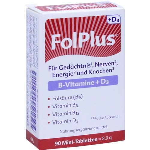 FOLPLUS+D3 Tabletten 90 St.