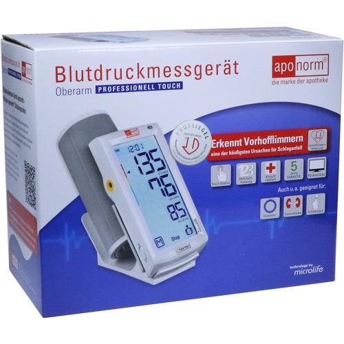 APONORM Blutdruckmessgerät Prof.Touch Oberarm