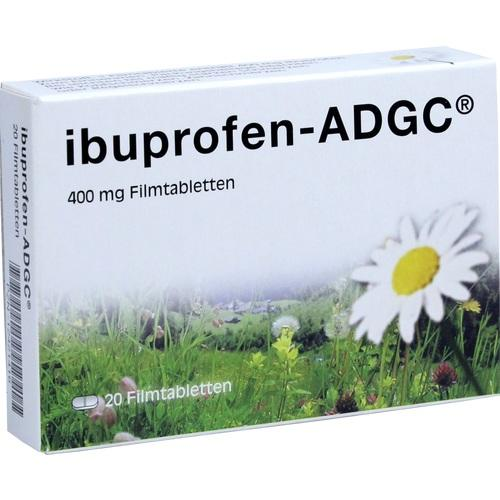 IBUPROFEN-ADGC 400 mg Filmtabletten 20 St