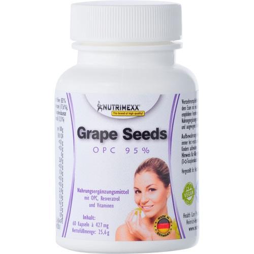 NUTRIMEXX Grape Seeds OPC 95% Kapseln