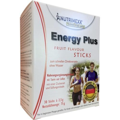 NUTRIMEXX Energy Plus Sticks