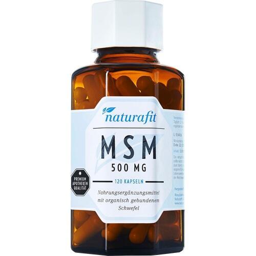 NATURAFIT MSM 500 mg Kapseln