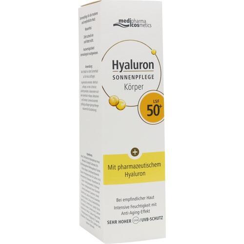 HYALURON SONNENPFLEGE Körper Creme LSF 50+