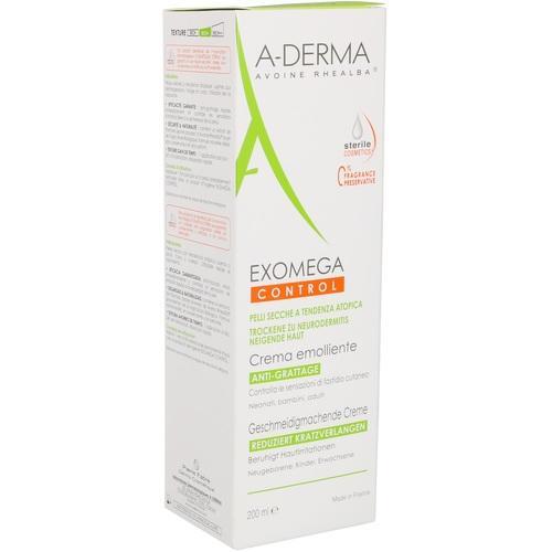 A-DERMA EXOMEGA CONTROL geschmeidigm.Creme steril