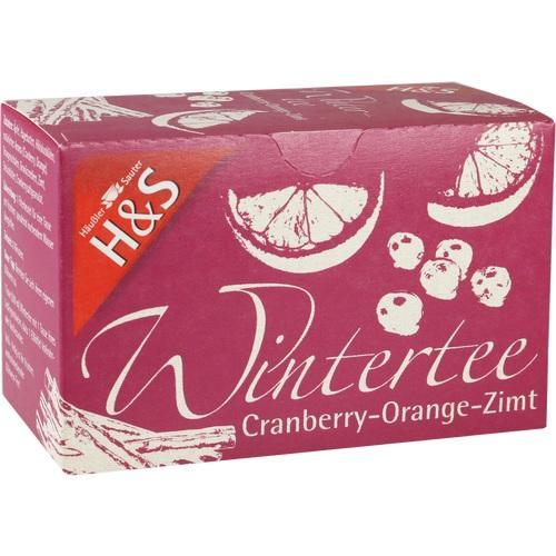H&S Wintertee Cranberry-Orange-Zimt Filterbeutel