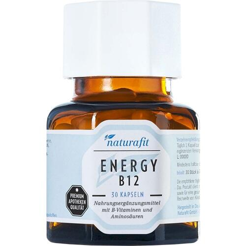 NATURAFIT Energy B12 Kapseln