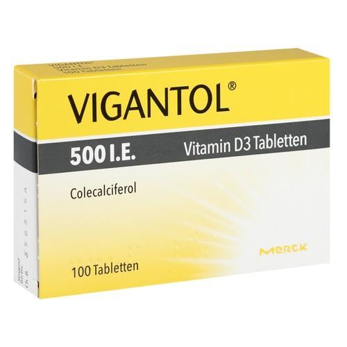 VIGANTOL 500 I.E. Vitamin D3 Tabletten