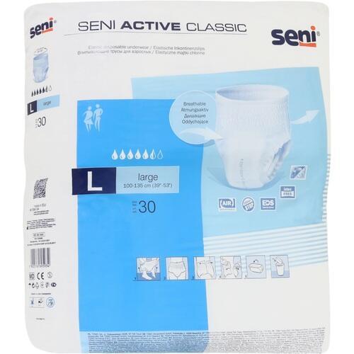 SENI Active Classic Inkontinenzslip Einmal L