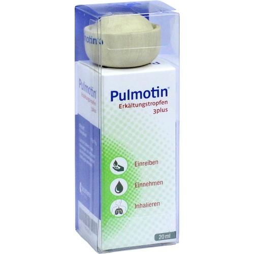 PULMOTIN Erkältungstropfen 3plus
