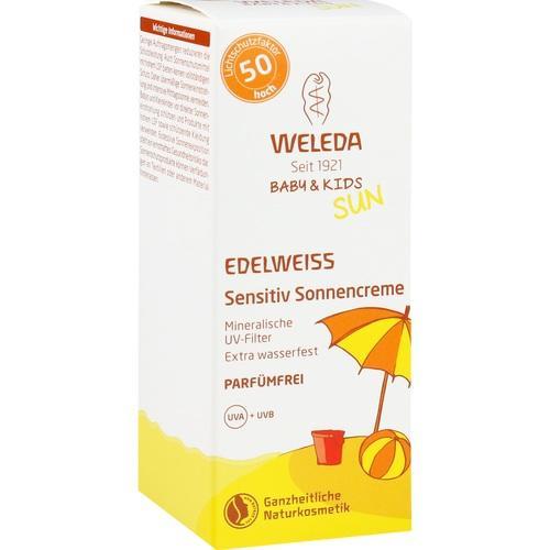 WELEDA Edelweiss Sensitiv So.Cr.LSF 50 Baby & Kids
