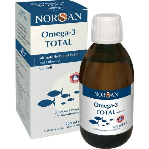 NORSAN Omega-3 Total Naturell flüssig 200 ml