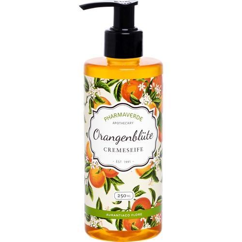 PHARMAVERDE Orangenblüte Cremeseife