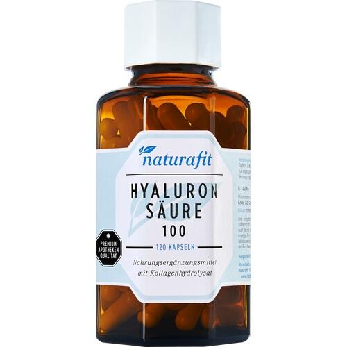 NATURAFIT Hyaluronsäure 100 Kollagenhydrolysat 350