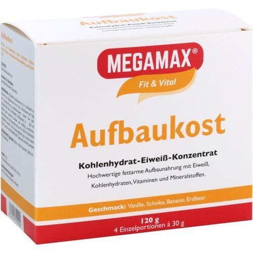 MEGAMAX Aufbaukost 4 Sorten Pulver