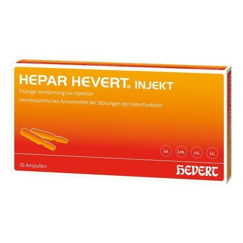 HEPAR HEVERT injekt Ampullen