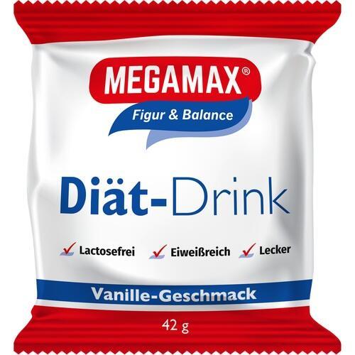 MEGAMAX Diät Drink Vanille Einzelport.Pulver