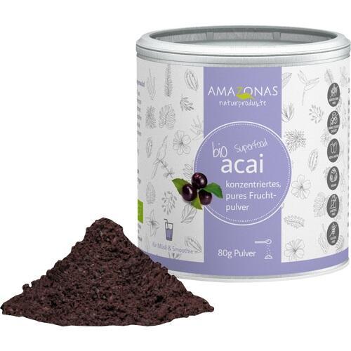 ACAI 100% Bio Pulver ohne Trägerstoffe