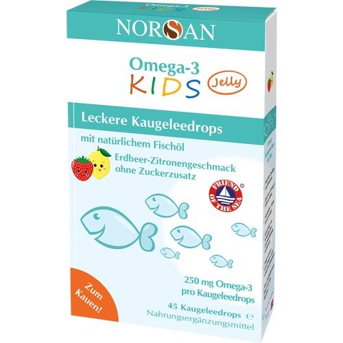 NORSAN Omega-3 Kids Jelly Dragees 45 St.