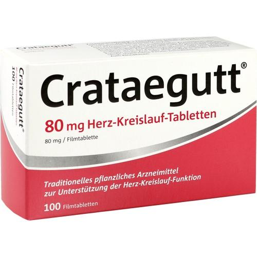 CRATAEGUTT 80 mg Herz-Kreislauf-Tabletten
