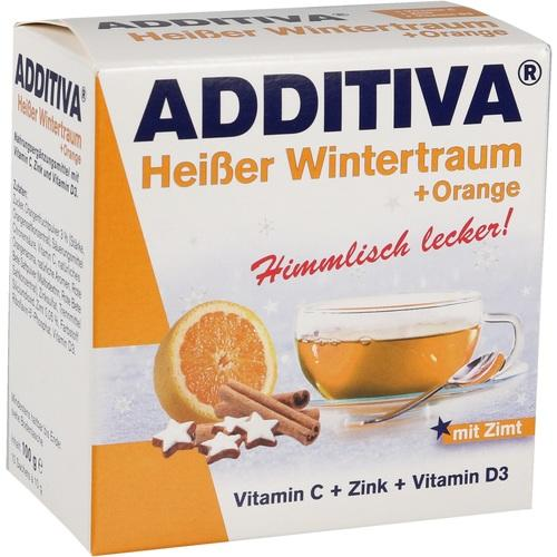 ADDITIVA heißer Wintertraum orange Pulver