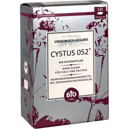 CYSTUS 052 Bio Halspastillen
