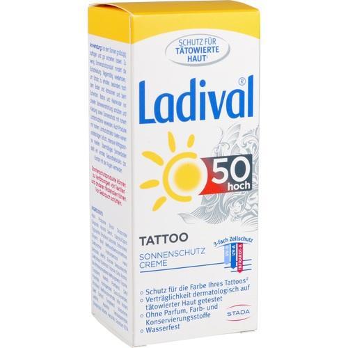 LADIVAL Tattoo Sonnenschutz Creme LSF 50