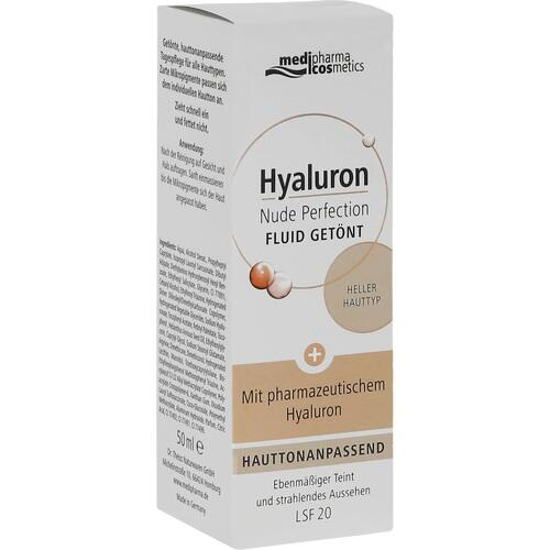 HYALURON NUDE Perfect.Fluid getönt hell.HT LSF 20 50