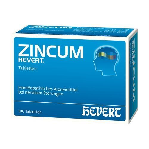 ZINCUM HEVERT Tabletten
