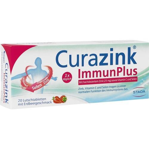 CURAZINK ImmunPlus Lutschtabletten