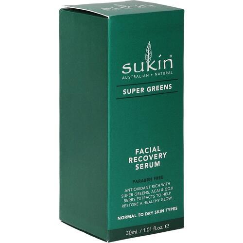 SUKIN Super Greens Facial Recovery Serum