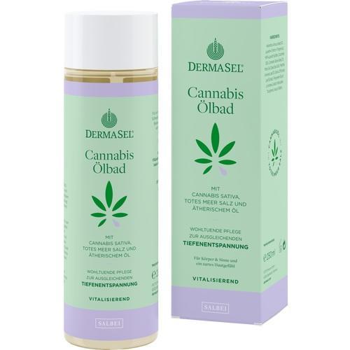 DERMASEL Cannabis Ölbad Salbei limited edition