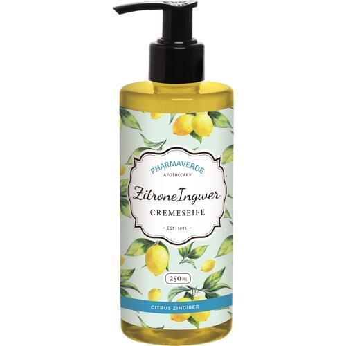 PHARMAVERDE Zitrone Ingwer Cremeseife