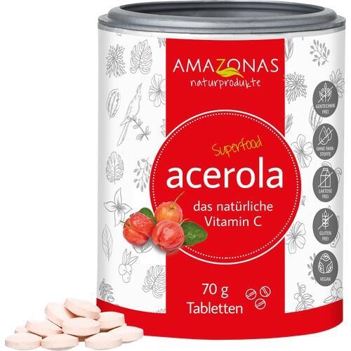 ACEROLA VITAMIN C ohne Zuckerzusatz Lutschtabl.