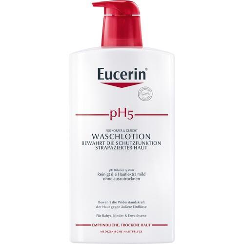 EUCERIN pH5 Waschlotion mit Pumpe