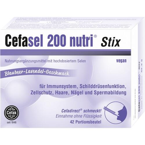 CEFASEL 200 nutri Stix Granulat