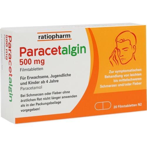 PARACETALGIN 500 mg Filmtabletten